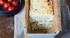 Verrine tomate mozzarella Tzatziki, Feta, Dairy, Food And Drink, Bread, Cheese, Desserts, Mozzarella, Cake