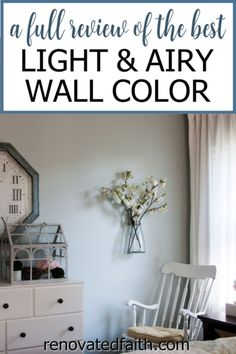 WHAT YOU SHOULD KNOW before painting your bedroom, bathroom or living room this vibrant paint color. Here's a full review along with how to decorate around this dynamic color!So what color is Sherwin Williams Silver Strand? A Joanna Gaines top pick, this gray has gorgeous blue and green undertones so it's important to know how to decorate & what colors go with Sherwin Williams Silver Strand. Included are SWSS paint strip comparisons (vs. Sea Salt). Grey Paint Colors, Bedroom Paint Colors, Paint Colors For Living Room, Diy Curtain Rods, Diy Curtains, Furniture Projects, Diy Furniture, Diy Projects, Home Renovation