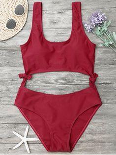 High Leg Cut Out Bowknot Swimwear   Up to 80% OFF + Free shipping on orders over $30. Plunge Padded Textured High Cut Bikini Set. Swimwear 2017:Zaful,Bikinis,Micro bikini,High waisted bikini,Halter bikini,Crochet bikini,One-pieces,Tankini set,Cover ups,to find different swimwear(bathing suit,swimsuits) ideas @zaful Extra 10% OFF Code:ZF2017