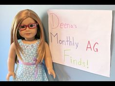 Deena's Monthly American Girl Doll Finds-March - YouTube