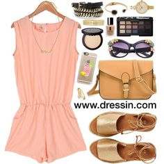 Here is a light, stylish outfit to wear while on vaction in the Outer Banks during your summer vacation