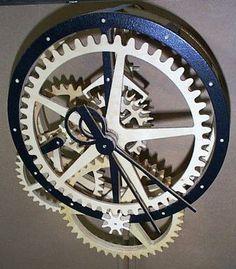 free wood clock plans