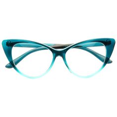 f53b26289d7d Special Edition Emma Ombre Cat Eye Clear Glasses
