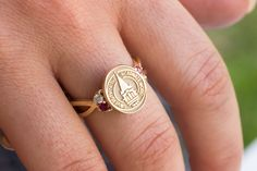 College seal rings, fine jewelry, and bridal. San Jose Jewelers, Girls Best Friend, Criss Cross, Class Ring, To My Daughter, College Graduation, Graduation Ideas, Fine Jewelry, Silver Rings