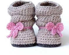 36 #Pairs of Baby #Booties to Keep Tiny Feet Warm ...