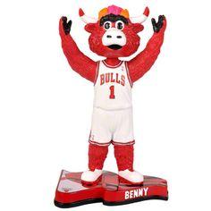 Benny The Bull Chicago Bulls 2013 Pennant Base Bobblehead $24.99