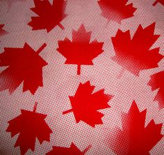 Squares, Flag, Canada, Shop, Etsy, Art, Art Background, Bobs, Kunst