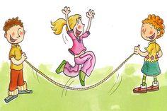 Unos niños estaban saltando a la comba e iban contando cuantos saltos hacía cada uno antes de fallar (9, 12, 17, 20, 25). ¿Que niño saltó cuantas veces sin