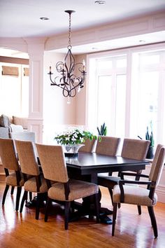 Dark Dining Tables Design Ideas, Pictures, Remodel, and Decor - page 2