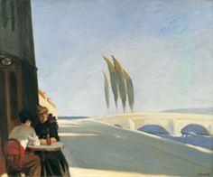 Edward Hopper - The wine shop - Le Bistro - 1909