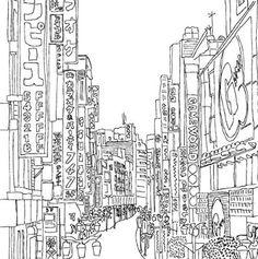 Secret Tokyo Color Your Way To Calm