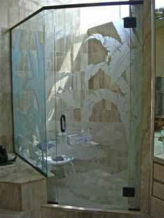1000 Ideas About Custom Shower Doors On Pinterest