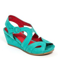 e638775611a0 French Blu Teal Black-Jack Platform Sandal