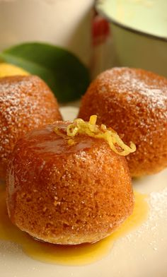 Greek Honey Cakes and pretty much everthing else on this womans site! yum yum!!