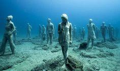 Výsledek obrázku pro podmořská galerie lanzarote