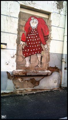ELLA & PITR  http://www.widewalls.ch/artist/ella-pitr/ #street #art