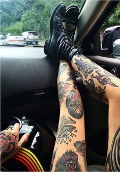 Tattoos and Modifications …