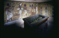 Burial Chamber of King TutankhamunKing Tutankhamun was laid to...
