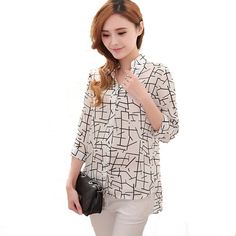 Cheap shirt personalized, Buy Quality shirt blouses directly from China shirt press for sale Suppliers:     Features: ·100% Brand New. ·Weight: 200g ·Material:Chiffon   ·Style:Summer Style Shirt 2