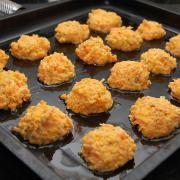 Buñuelos de calabaza y zanahoria al horno 4