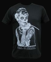 Black Market Art - Aubrey Tee  #goth #gothic #punk #punkrock #rockabilly #psychobilly #pinup #inked #alternative #alternativefashion #fashion #altstyle #altfashion #clothing #clothes #vintage #noir #infectiousthreads #horrorpunk #horror #steampunk #zombies #burningmanclothing #shrine clothing