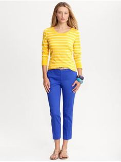 Women's Apparel: outfits we love | Banana Republic love the colors
