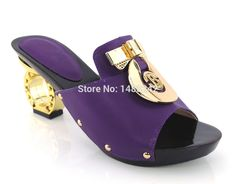 75.00$  Watch more here  - Item No.yh15-1785 purple Italian shoe and bag set ,African lady shoes matching wedding party dress For free shipping