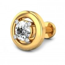 0.15ct Nirmal Diamond Nose Pin Read more at http://www.candere.com/jewellery/womens-diamond-nosepin.html
