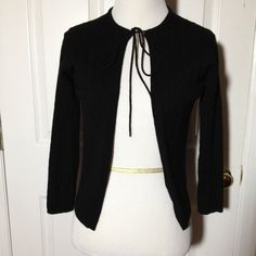 Katayone Adeli black cardigan sweater 100 % wool Katayone Adeli black cardigan sweater 100 % wool Katayone Adeli Sweaters Cardigans