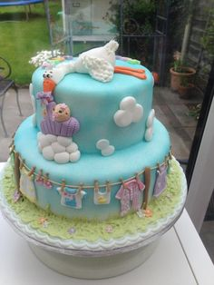 The Stork brings bundles of joy - Cake by Chaley O'Neill