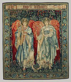 Edward Burne-Jones, John Henry Dearle, Merton Abbey Tapestry Works: Angeli Laudantes (2008.8) | Heilbrunn Timeline of Art History | The Metropolitan Museum of Art