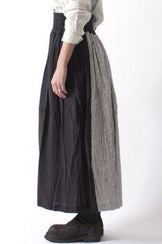 Stripe Panel Skirt | Vlas Blomme