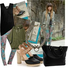 Blogger Style: Julie Sarinana, created by giuliacarraro on Polyvore