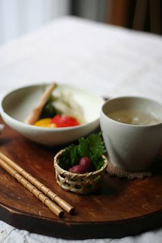 Japanese Tsukemono Pickles Dish (Crunchy Pickled Plum and Other Pickled Vegetables)|カリカリ梅と漬け物