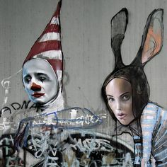 HERAKUT http://www.widewalls.ch/artist/herakut/ #graffiti #streetart