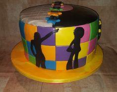 Magnifica torta anni 70. Red Velvet.