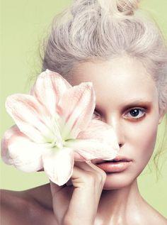 Flower Girl: Paige Reifler for Elle Vietnam Beauty by Stockton Johnson