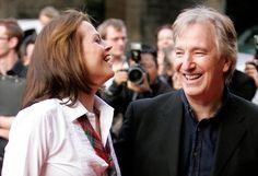 Alan Rickman and Sigourney Weaver - premiere of 'Snow Cake' during the Edinburgh International Film Festival (Scotland - August 15, 2006)