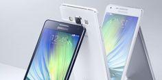 El Galaxy A5 y Galaxy A3 son los más recientes modelos de la línea Galaxy. (horizontal-x3)