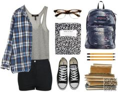 12. I'd Wear This #Every Day - Have You Planned Your Back to #School Outfit Yet? → Teen #Polyvore