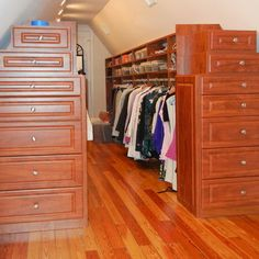 Attic Closet California Closets And Closet On Pinterest