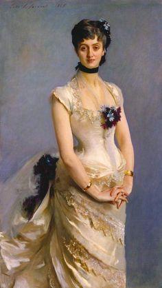 John Singer Sargent: Madame Poirson Gorgeous!