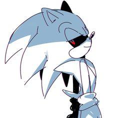 Sonic.exe. It's kaneki in Sonic? xD