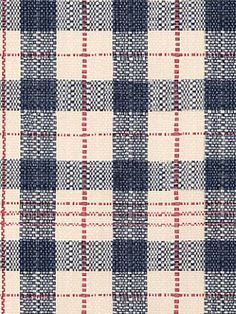 Woven-look plaid wallpaper is classic and casual. | AmericanBlinds.com #madforplaid