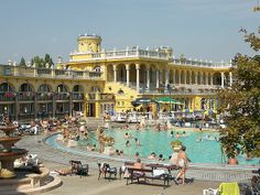 Hungary - budapest, mineral springs - Travel Guide ~ Tourist Destinations