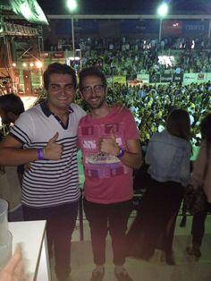 Los ganadores de la entrada para el concierto de Hombres G