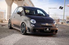 """""""Project Scorpione"""" Fiat 500 Abarth by SR Auto."""