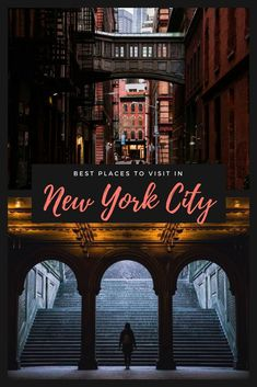 Check out our guide for the best places to visit in New York City including where to eat in New York City, New York City nightlife, where to go in New York City, and things to do in New York City. #Newyorkcity #NYC #NewYork New York Things to do | US Travel | New York City