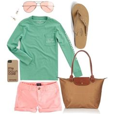 Green & pink vv