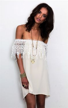 i want this!!! i think i would look a lot better in it than she does.. just saying super cute dress